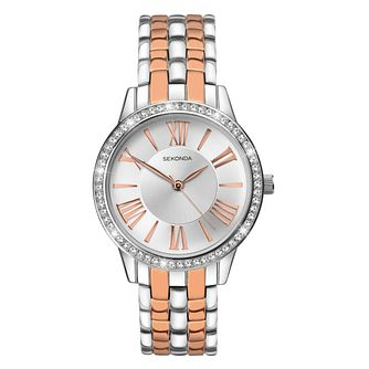 Sekonda Ladies' Two Tone Bracelet Watch - Product number 5865808