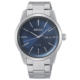 Seiko Solar Men's Stainless Steel Bracelet Watch - Product number 5866693