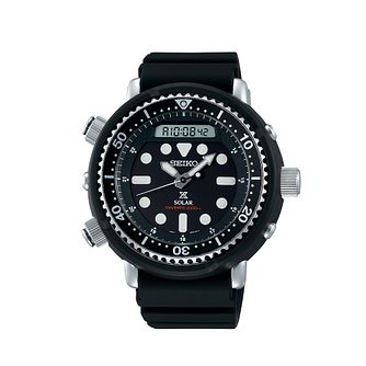 Seiko Prospex Arnie Men's Black Silicone Strap Watch - Product number 5866766