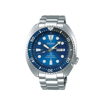 Seiko Prospex Save The Ocean Turtle Stainless Steel Watch - Product number 5866820