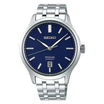Seiko Presage Men's Stainless Steel Bracelet Watch - Product number 5866855