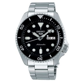 Seiko 5 Sports Men's Stainless Steel Bracelet Watch - Product number 5866901