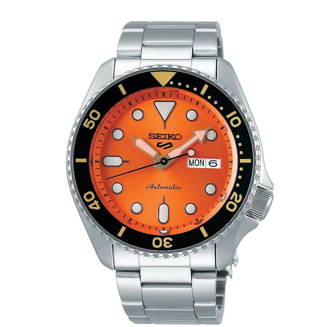 Seiko 5 Sports Men's Stainless Steel Bracelet Watch - Product number 5866928