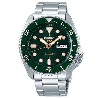 Seiko 5 Sports Men's Stainless Steel Bracelet Watch - Product number 5866936