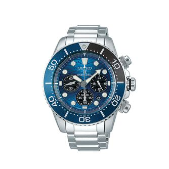 Seiko Prospex Save The Ocean Stainless Steel Bracelet Watch - Product number 5867053