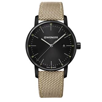 Wenger Urban Classic Men's Beige Strap Watch - Product number 5867177
