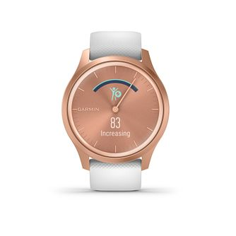 Garmin Vivomove Style White Silicone Strap Smartwatch - Product number 5867649