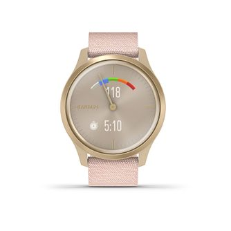 Garmin Vivomove Dust Rose Fabric Strap Smartwatch - Product number 5867665
