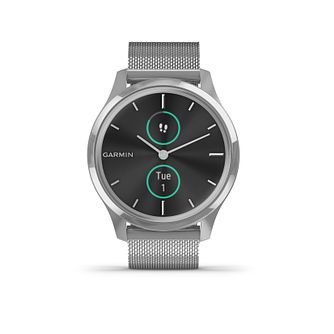 Garmin Vivomove Luxe Stainless Steel Bracelet Smartwatch - Product number 5867738