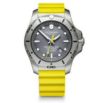 Victorinox I.N.O.X Pro Diver Yellow Rubber Strap Watch - Product number 5867975
