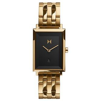 MVMT Mason Signature Square Gold Tone Bracelet Watch - Product number 5868289