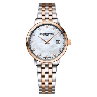 Raymond Weil Toccata Diamond Ladies' Two Tone Bracelet Watch - Product number 5868343