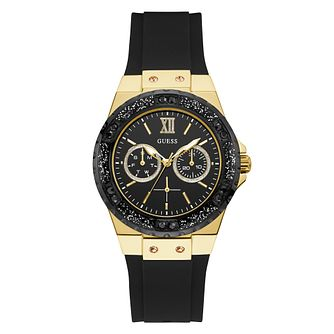 Guess Limelight Ladies' Black Silicone Strap Watch - Product number 5870399