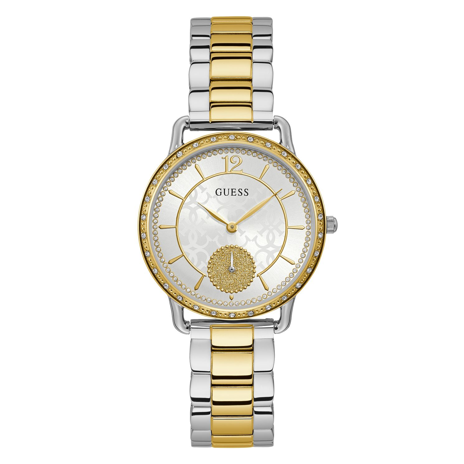 Guess Astral Ladies' Two Tone Bracelet Watch - Product number 5870518