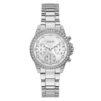 Guess Gemini Ladies' Stainless Steel Bracelet Watch - Product number 5870534