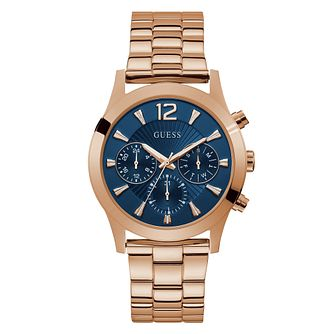 Guess Skylar Ladies' Rose Gold Tone Bracelet Watch - Product number 5870550