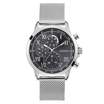 Guess Porter Men's Stainless Steel Mesh Bracelet Watch - Product number 5870704