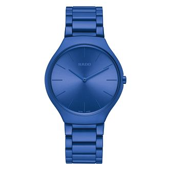 Rado True Thinline Les Couleurs Le Corbusier Blue Watch - Product number 5870747
