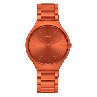 Rado True Thinline Les Couleurs Le Corbusier Orange Watch - Product number 5870771
