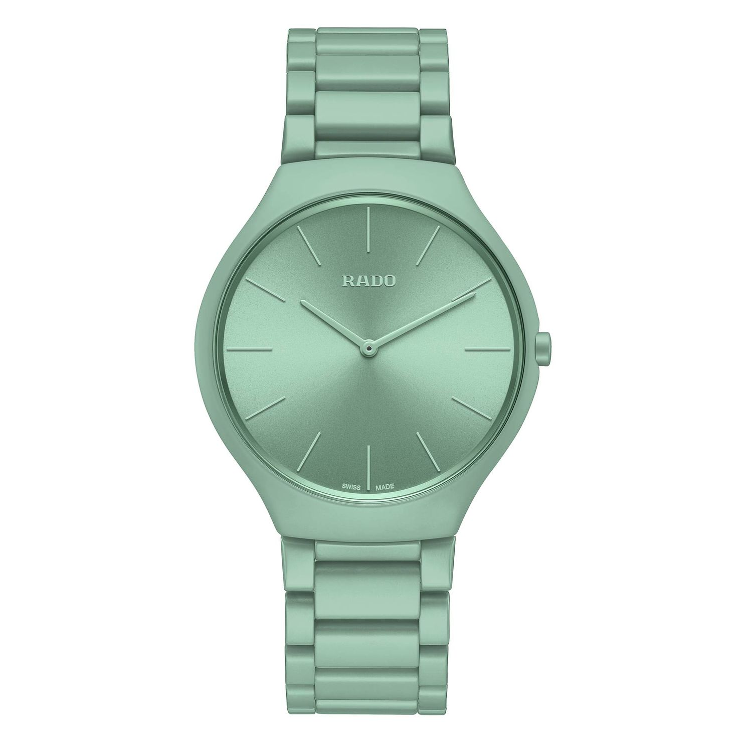 Rado True Thinline Les Couleurs Le Corbusier Green Watch - Product number 5870798