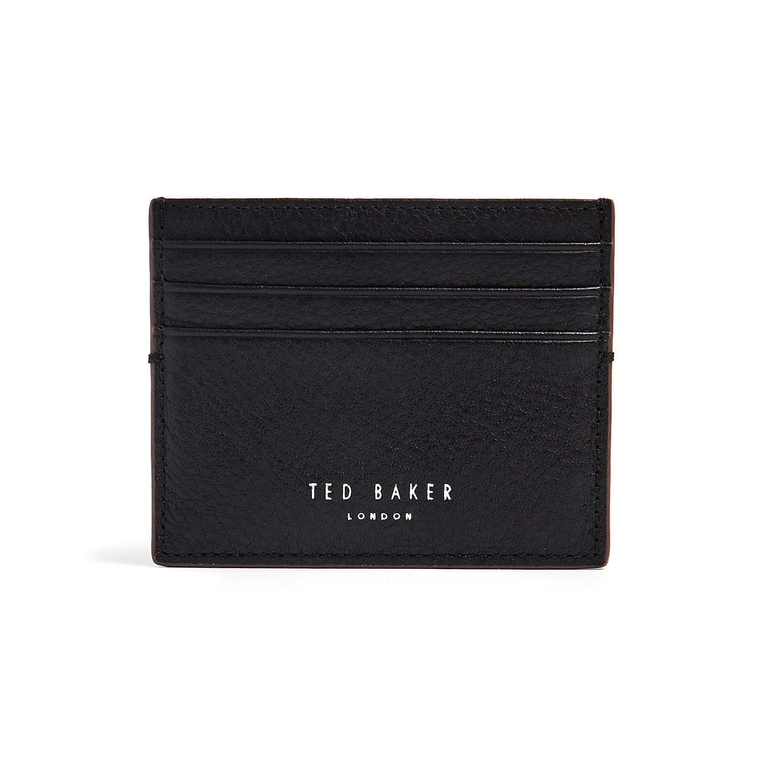 Ted Baker Cascade Men's Black Leather Cardholder - Product number 5874297