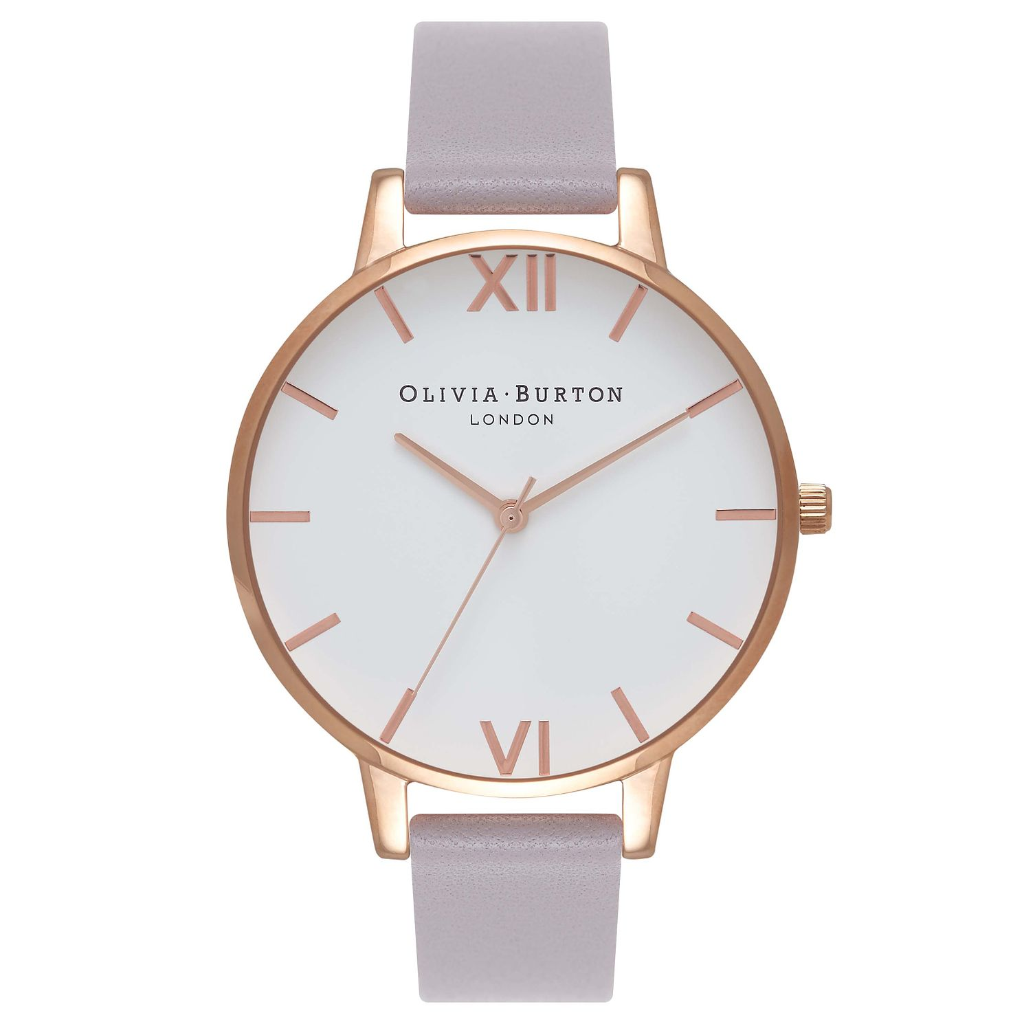 Olivia Burton Parma Violet Ladies' Lilac Leather Strap Watch - Product number 5878683