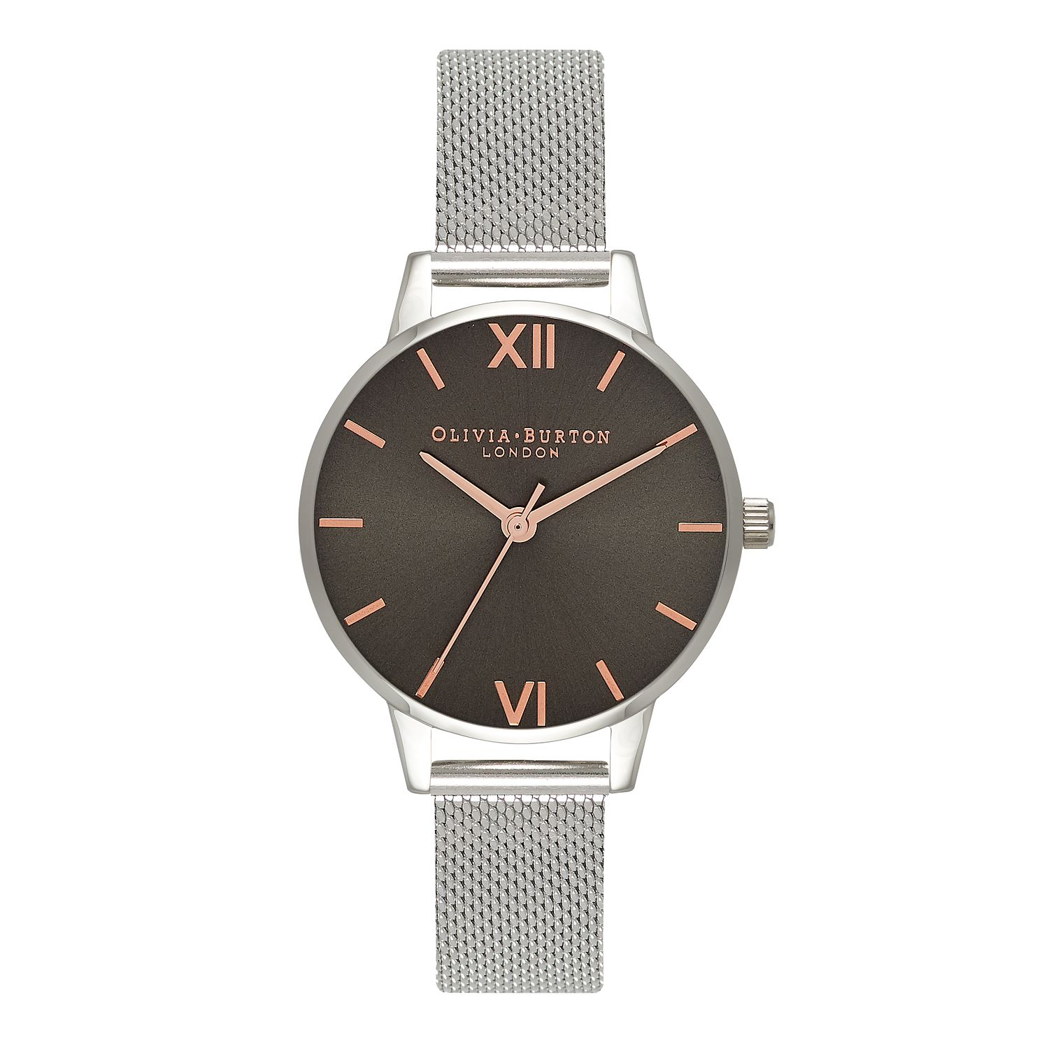 Olivia Burton Stainless Steel Mesh Bracelet Watch - Product number 5878748