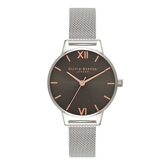 Olivia Burton Ladies' Stainless Steel Mesh Bracelet Watch - Product number 5878748