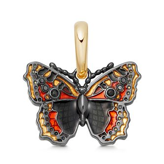 Links Of London Gold Vermeil Butterfly Wildlife Charm - Product number 5879779
