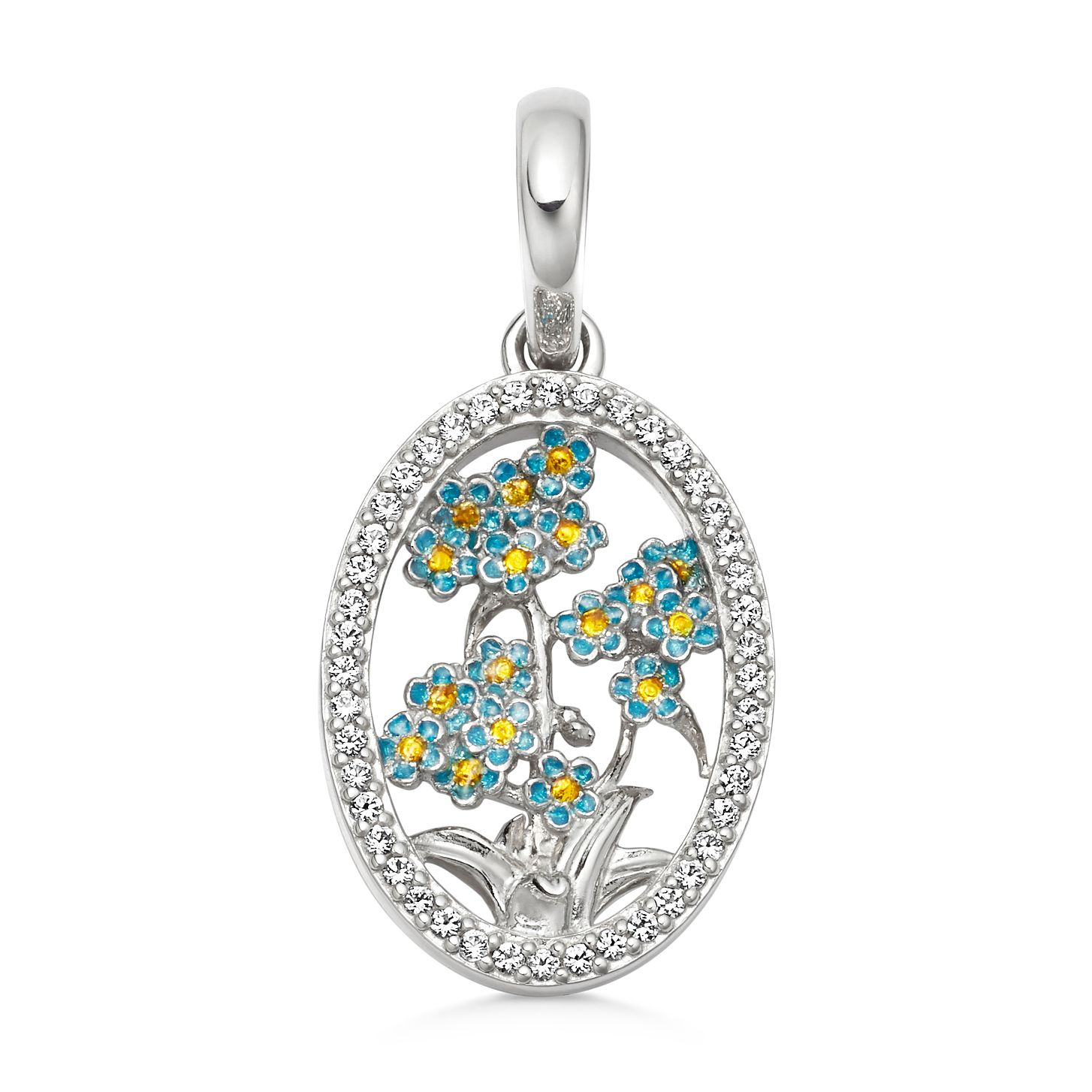 Links Of London Silver & Topaz Forget-Me-Knot Wildlife Charm - Product number 5879892