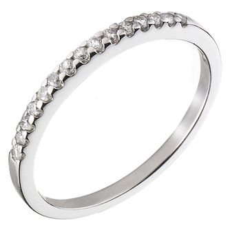 Platinum 0.15ct Diamond Wedding Ring - Product number 5884268