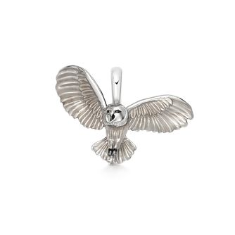 Links Of London Silver & Enamel Barn Owl Wildlife Charm - Product number 5886406