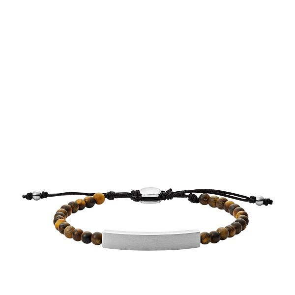 Fossil Men's Tiger's Eye Beaded Bracelet - Product number 5886864