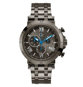 Gc Insider Chronograph Men's Stainless Steel Bracelet Watch - Product number 5887593