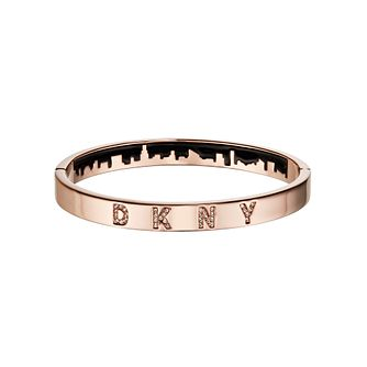 DKNY Skyline Rose Gold Plated Swarovski Crystal Bracelet - Product number 5888581