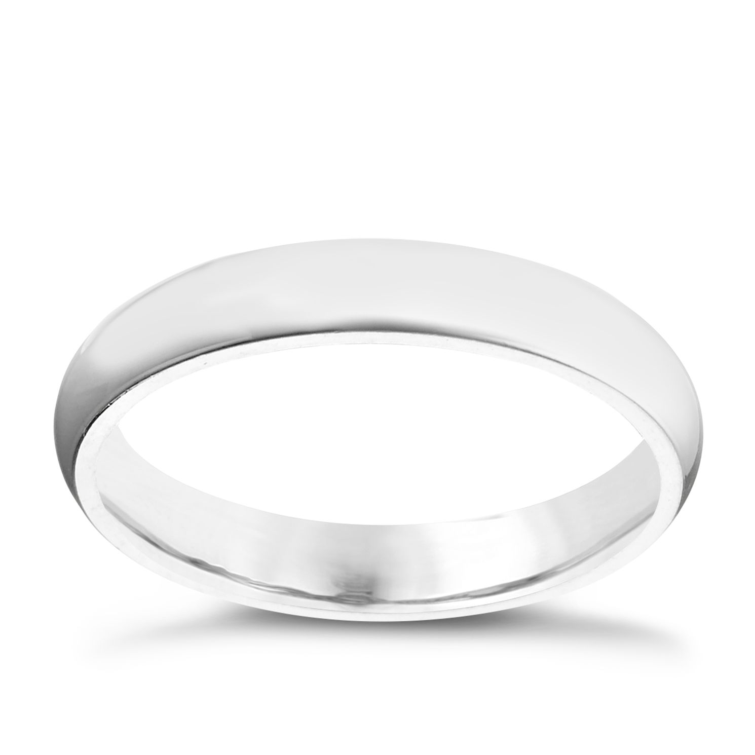 Palladium 950 3mm Super Heavy Court Ring - Product number 5900700