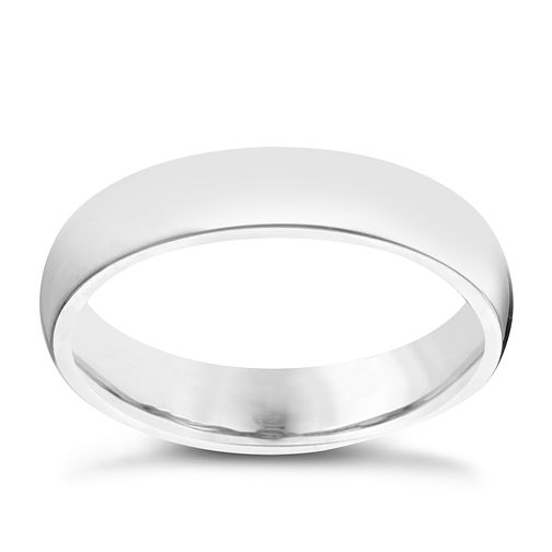 Palladium 950 4mm Super Heavy Court Ring - Product number 5900905