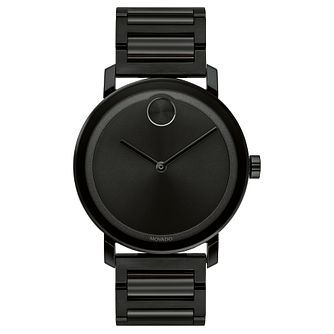 Movado Bold Men's Black Ip Bracelet Watch - Product number 5912342