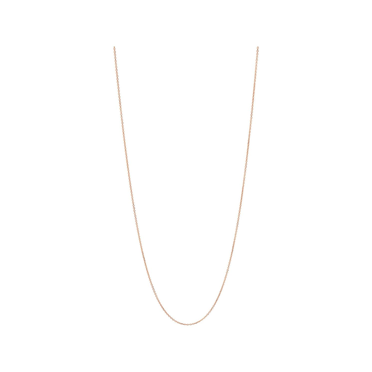 Links of London Essentials Rose Gold Vermeil Cable Chain - Product number 5916488