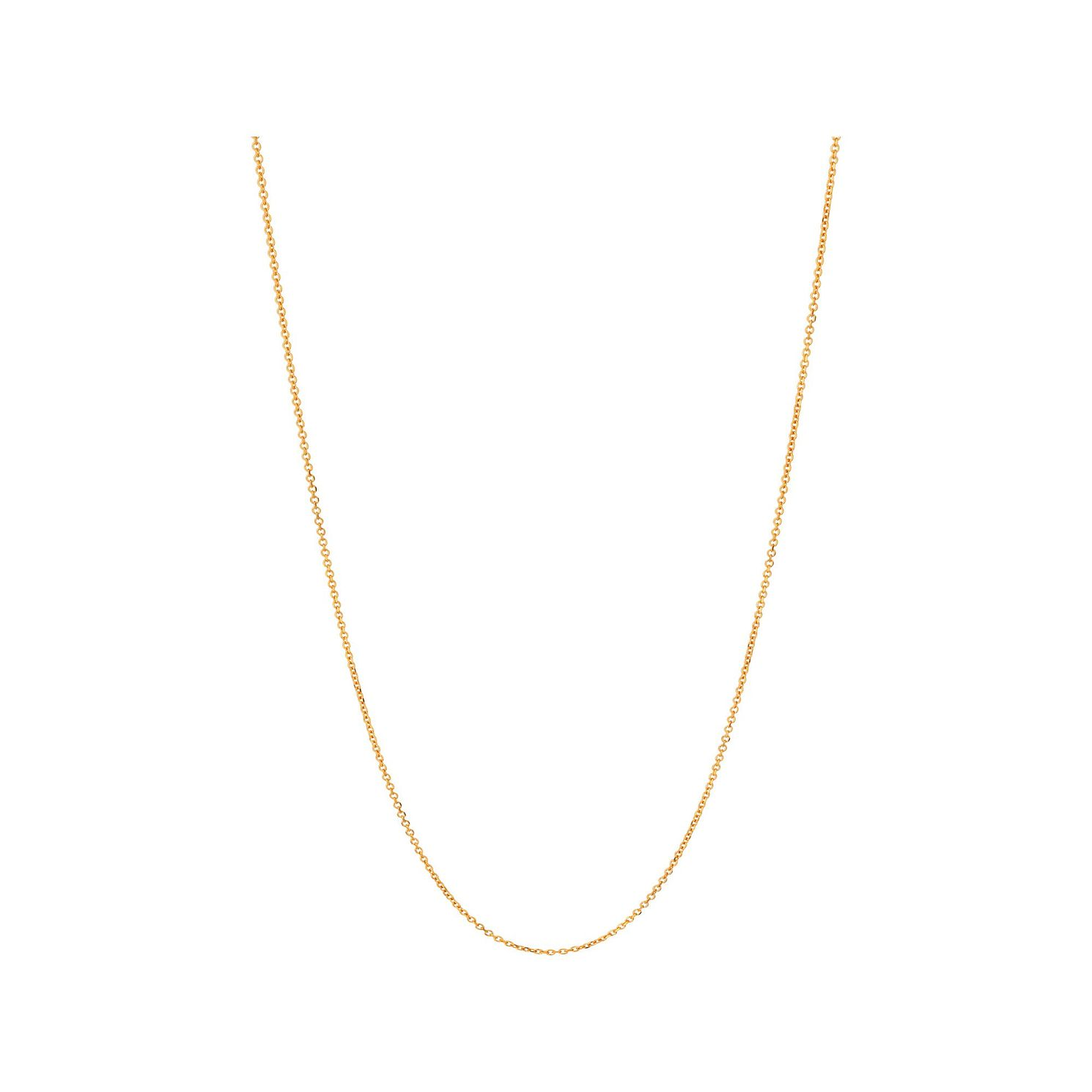 Links Of London Essentials Yellow Gold Vermeil Cable Chain - Product number 5916992