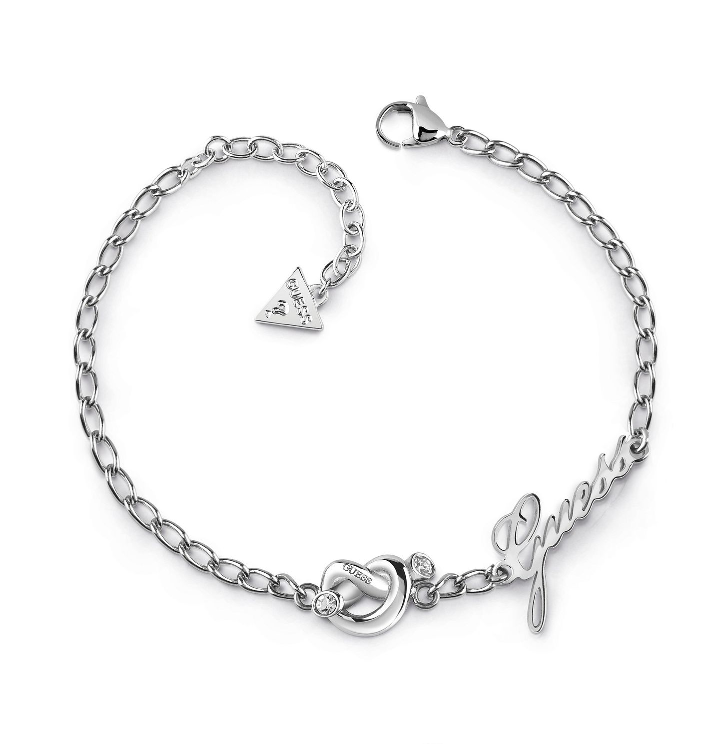 Guess Stainless Steel Swarovski Crystal Knot Bracelet - Product number 5921430