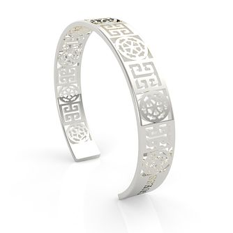 Guess Stainless Steel Peony Cut-Out Bangle - Product number 5922011