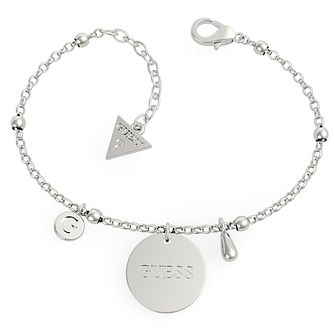 Guess Stainless Steel Twist Charm Bracelet - Product number 5922062