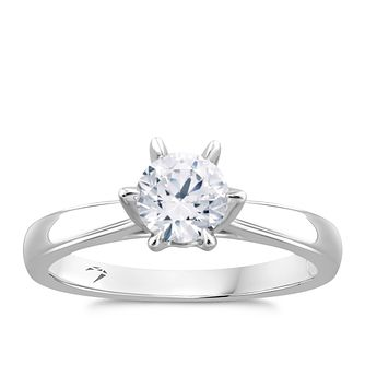 Arctic Light Platinum 0.70ct Diamond Solitaire Ring - Product number 5926173
