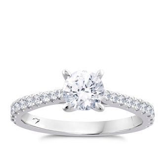 Arctic Light Platinum 1ct Total Diamond Ring - Product number 5926629