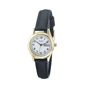 Sekonda Ladies' Black Strap Watch - Product number 5929164