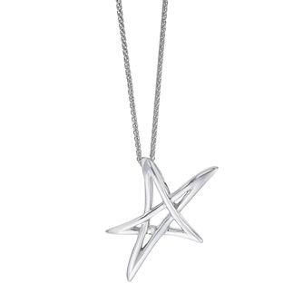 Vera Wang Sterling Silver Star LOVE Pendant - Product number 5930081