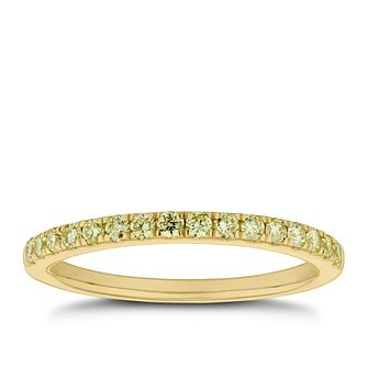 18ct Yellow Gold 1/4ct Diamond Eternity Ring - Product number 5944414