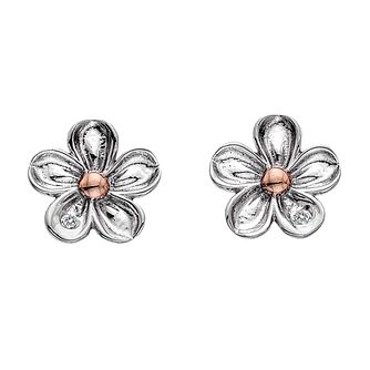 Hot Diamonds Sterling Silver Forget Me Not Stud Earrings - Product number 5946875