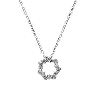 Hot Diamonds Sterling Silver Vine Star Necklace - Product number 5946891